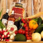 Panier pour l'été de produits de producteurs locaux