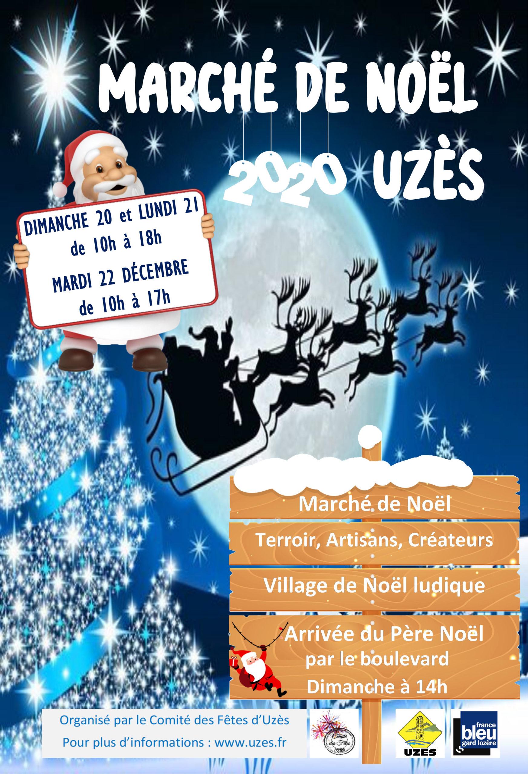 MARCHE DE NOEL UZES 2020